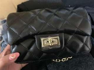 黑色鐡鏈袋