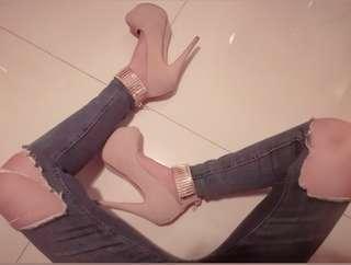 Suede Pump Heels