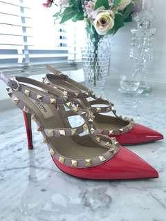 Authentic Brand New Valentino Rockstud Pumps / Heels 38