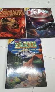 Let's discover The Earth, Space, Dinosaurs