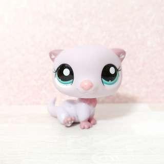 Littlest pet shop lps perfect condition otter (pink)