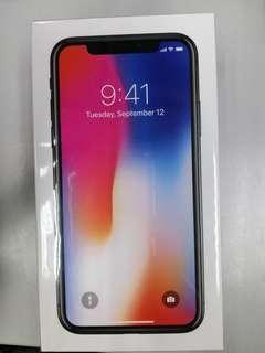 New I phone X 64gb