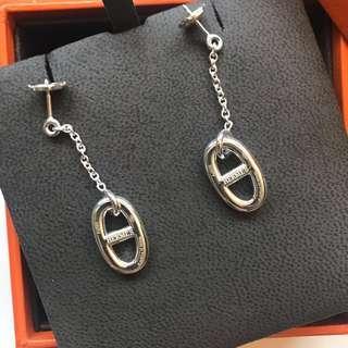 Hermes 經典豬鼻耳環