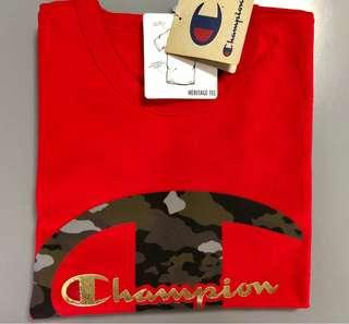 Champion Heritage Camp C Red T-Shirt