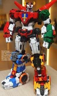 TP01 Titan Power TP-01 Titan Beast King Chogokin - Voltron