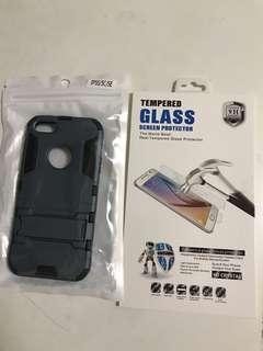 🚚 iphone5c手機殼螢幕玻璃保護套