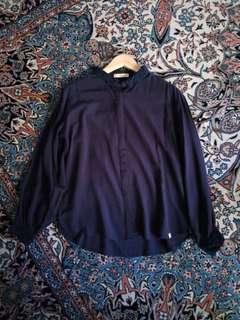 🆕 Navy Blue Blouse