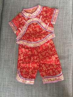 Kids CNY clothes/ little qi pao / cheongsam
