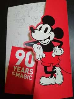 90Years Of Magic Disney Mickey The True Original Stamp Sets Folder