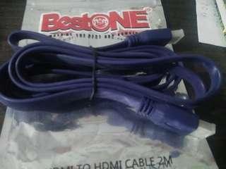 Kabel HDMI 2M