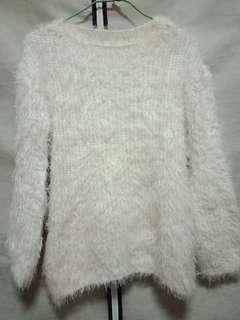 🚚 仿兔毛毛衣