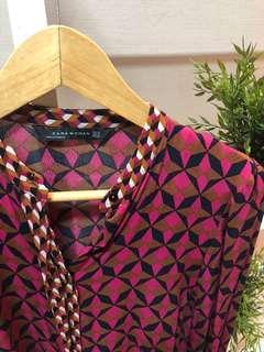 Zara Woman dress motif