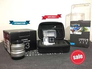 Photography Bundle (Fujifilm Lens + GoPro Hero 4)