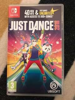 Switch game - Just Dance 2018