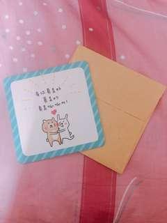 🚚 熊兔超耐熱抗熱杯墊 畢業禮物 情人節禮物 生日禮物