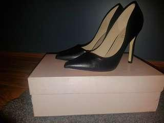 Verali Black Stiletto Heels