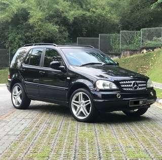 Mercedes Benz ML320 (A)