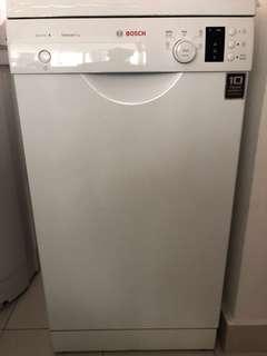 Slim Bosch Dishwasher - Hardly used