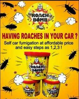 Awesome BOMB to get rid cockroach for Car and House