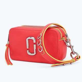 Authentic Marc Jacobs Snapshot The Softshot 21 Sling Crossbody Bag