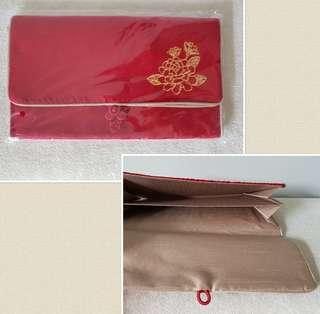 Red Packet Ang Bao Organiser Pouch with 2 compartments
