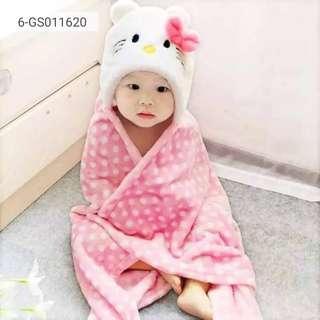 Cartoon characters Baby Hood Towel