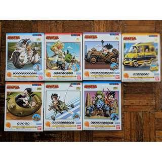 Dragon Ball Mecha Collection 7 In 1 Combo Set (complete set)