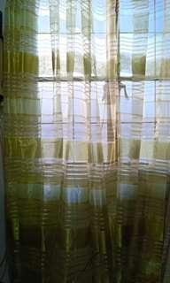 Sheer curtain with ring