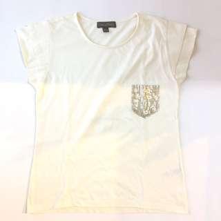Plains & Prints Off White Shirt