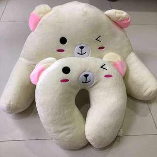 cushion Teddy bear 1+1