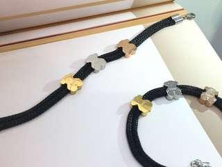 Tous Bear Classic Black Bracelet