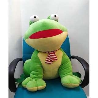 Giant Frog Soft Toy (Height 60cm/2ft)