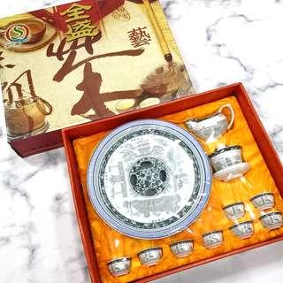 Premium quality porcelain Tea Pot set 早期高档瓷茶具套装 #CNYDECOR #CNYHOME