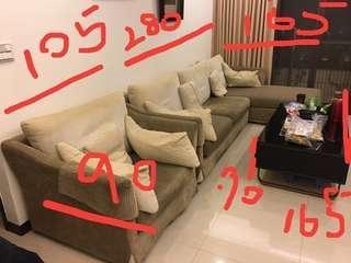 沙發全部只要2000需自取搬走 不保留 先到先搬(使用中 )