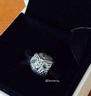 Pandora Wise Owl Charm