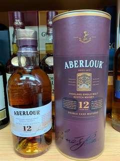 Aberlour12年威士忌70cl