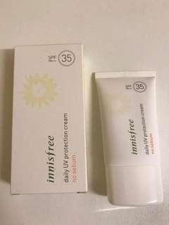 Innisfree Suncream