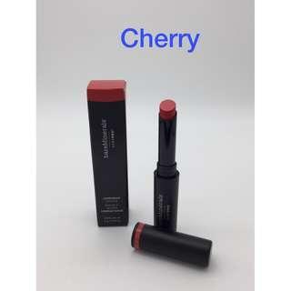 新品!#Cherry, bareMinerals高效鎖色絲霧唇膏 BAREPRO Long Wear Lipstick 包平郵 全新專櫃品 任何兩件商品95折