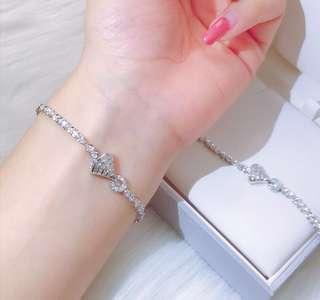 80份💎18k鑽石手鏈