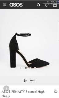 Asos Pointed Block Heels