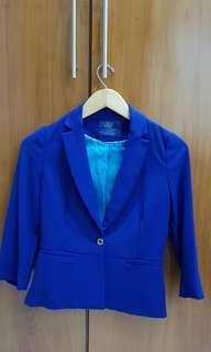 Blazer Biru