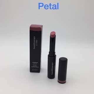 新品!##Petal, bareMinerals高效鎖色絲霧唇膏 BAREPRO Long Wear Lipstick 包平郵 全新專櫃品 任何兩件商品95折