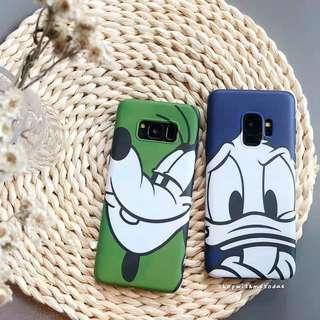 Donald Duck Goofy Samsung Note 9 / 8 / S9 plus / S8 casing