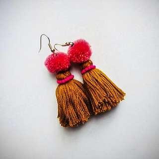 🚚 Earrings || Thistle earrings || Handmade Attractive Earrings || Special Offer Earrings || Cheapest Earring || Buy A Set Of Earrings In Low Price || Muskan's Tassel Earrings || Attractive || Handmade || Colorful || Nepal's Top Fashionable Cheap Earrings