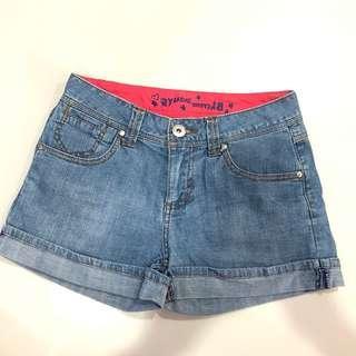Cache jean short size 155/64A