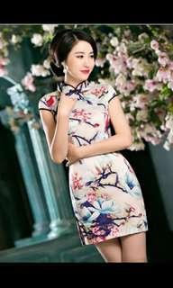 BN Cheongsam Qipao - Premium Floral