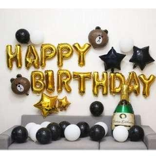 🚚 (In Stock)Birthday Party Decoration Set