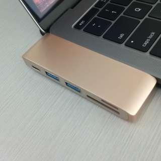 USB Type C Multi Port Hub for Mac/WIndows (Mulus)