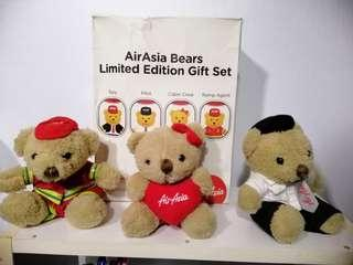 AirAsia Bears Limited Edition GIFT Set