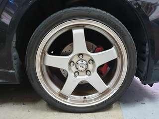 18' Rims & Tyre